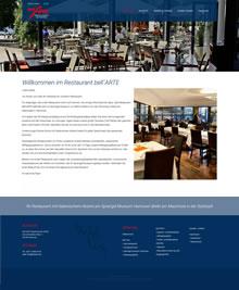 Hannover am Maschsee im Sprengel Museum - bell´ARTE italienisches Restaurant und Cafe in Hannover