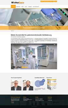 Blisterzentrum zur Verblisterung von Arzneimitteln in Blister Verpackungen für eine Patientenindividuelle Verblisterung aus Hameln.