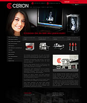 Die Cerion Gmbh entwickelt 3D Laser, 3D Lasergravur bzw. 3D Lasersysteme auf h�chstem Niveau. Produzieren Sie mit den 3D Laser Systemen von Cerion 3D Glasfotos, 3D Portraits in Kristall-/Glasw�rfel. Lasersysteme zur 3D Laserinnengravur f�r individuelle Werbeartikel. 3D Scanner, Software f�r den 3D Scan und 3D Laser durch Cerion, Ihr Ansprechpartner bei 3D Laser, Lasergravur und kompletten Lasersystemen.