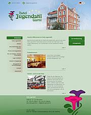 Hotel Jugendstil - 4-Sterne Garni City Hotel Hameln Stadtmitte / Zentrum / Altstadt.