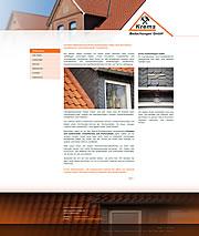 Krems Bedachungen, die Dachdeckerei f�r alle Arbeiten rund ums Dach in der Region Wunstorf Garbsen - Ob Solartechnik, Dacheindeckung oder diverse Dacharbeiten, unsere Kunden aus der Region Garbsen Wunstorf wissen unsere Qualit�t zu sch�tzen
