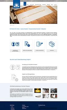 Ihr Partner für Online - Laserschneiden, Wasserstrahlschneiden und Abkanten - R+G Metallbau GmbH